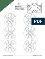 Circle Drill Multiplication