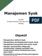 Manajemen Syok
