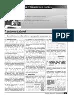 Detalles Sobre La Micro y Pequeña Empresa en Nuestro País
