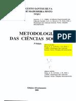 Silva, Augusto Santos; Pinto, José Madureira - Metodologia das Ciencias Sociais.pdf