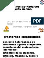 10. Trastornos Metabólicos en El RN