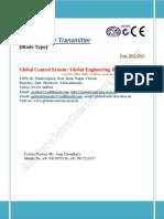 Consistency Transmitter Blade Type