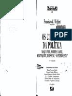 Clássicos Da Política - Rousseau
