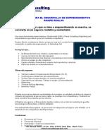 Programa Para El Desarrollo de Emprendimientos Rompe Reglas