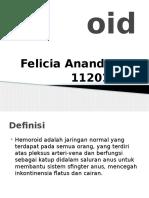 Referat -Hemoroid ppt