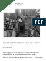 De Las Representaciones Colectivas a Las Representaciones Sociales _ Ana Lía Kornblit