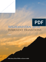 Afghanistan 2016 Turbulent Transitions-Delhi Policy Group