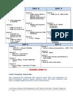 API SI Course Outline
