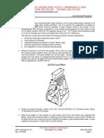 Coal Sieving Procedure