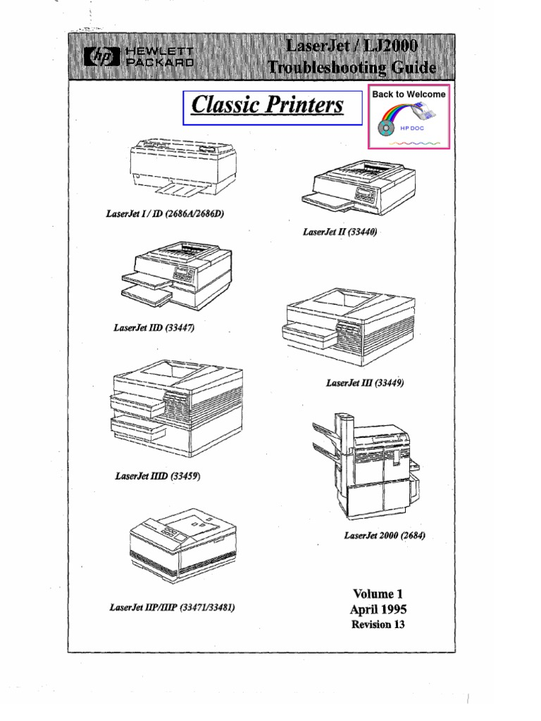 Hp Classic Laserjet Troubleshooting Manualpdf Printer Computing Veti Plug Wiring Diagram Mains Electricity