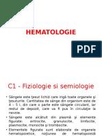 HEMATOLOGIE C1