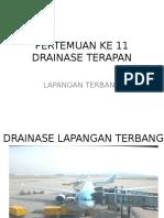 Drainase Lapangan Terbang