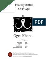 The Ninth Age Ogre Khans 1 0 0