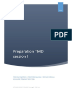 preparation tmd session i