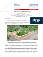 Water Management for Raised Bed Gardens Revision