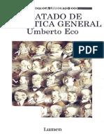 Umberto Eco - Tratado de Semiotica General