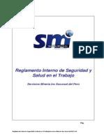 Reglamento Interno Seguridad SM Inc
