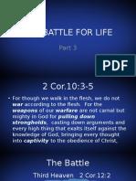 The Battle for Lifept3