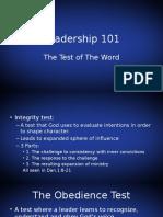 Leadership 101part9
