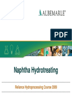 Reliance HPC Course 2009 - 09 - Naphtha Hydrotreatment