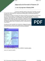 Configuracion Del Firewall de Windows XP