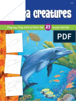 Draw and Color - Sea Creatures (Gnv64)