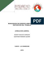 Monografia de Legislacion