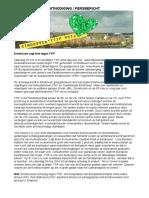 Persbericht 040 TTIP vrij 28 mei 2016 Eindhoven
