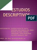 Estudios Descriptivos 2