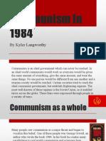 communism in 1984