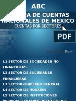 Sistemas de Cuentas Nacionales