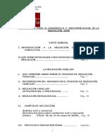 Foro, Protocolo Mediacion 2008 - PDF