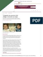 Tragédia de Menino Sírio Afoga o Mundo Na Culpa - Jornal Do Commercio