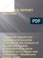 035_research Report Writing