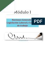 Derecho Laboral Módulo I