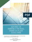 adobe cs instructional design plan analysisrmathews  week 4