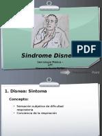 Disnea-Semiologia