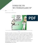 Reflexiones de Un Babalawo Venezolano n