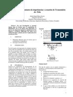 PEDRO DANIEL ELAJE ALVAREZ 1321501 Assignsubmission File Técnicas de Acoplamiento de Impedancia y Ecuación de Friis