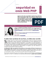 PHP - Seguridad Básica en Aplicaciones