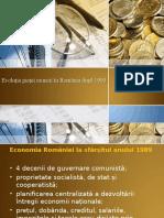 Evolutia Pietei Muncii in Romania