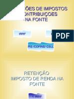 Retenções Do Irrf e Pis.cofins.csll