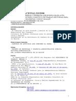 Decreto Nacional 210