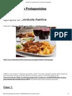 Ejemplos de Conducta Asertiva _ Coaching Para Protagonistas