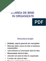 Prelegere Starea de Bine in Organizatii 04-05-2016