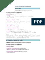 Sintagmas (Estructura), Complementos Menores