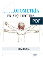 antropometria arquitectura