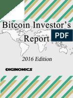 2016 Bitcoin Investor s Report