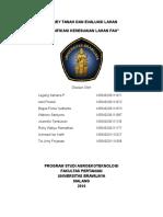 Klasifikasi Kesesuaian Lahan Fao 2003-2007