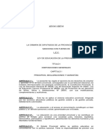 Ley1327-H Ley de Educacion